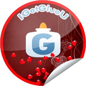 I GetGlue U Sticker